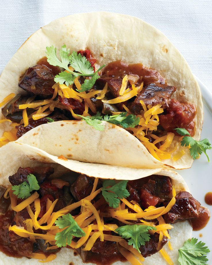 Slow Cooker Carne Guisada Martha Stewart Living Give Ground Beef A Rest And