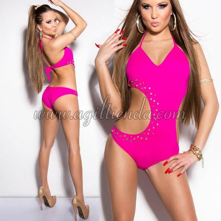 Moda trajes de ba o para mujeres 2014 los trikinis mas for Ganchos para trajes de bano