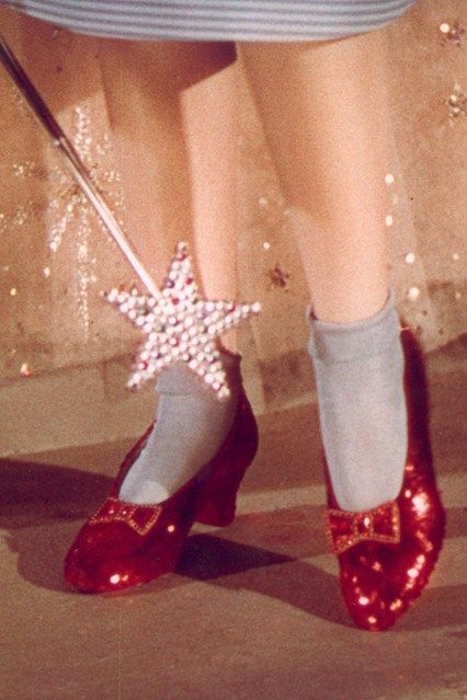 Dorothy Wizard Of Oz Ruby Slippers Judy Garland Coming To London - V And A Hollywood Costume Exhibition (Vogue.com UK)