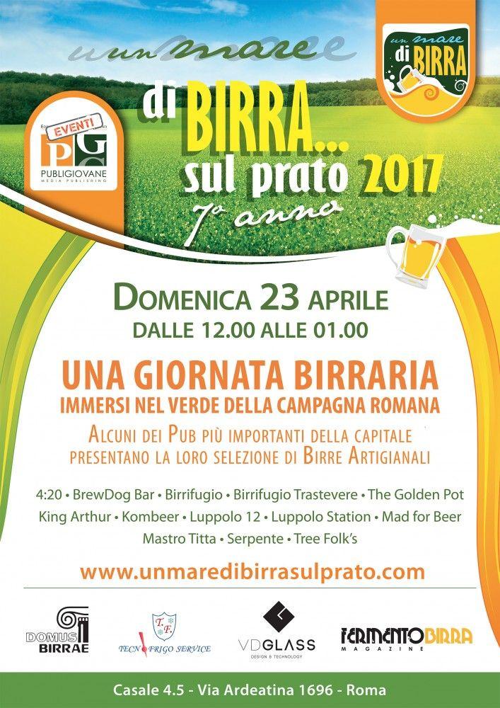 Un Mare di Birra... sul Prato: il 23 aprile torna l'evento brassicolo di primavera! - Le Strade della Birra, il magazine sul mondo della birra artigianale in Italia