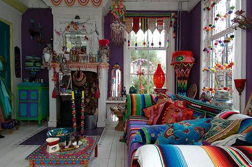beautiful bohemian decorating style gallery - design and