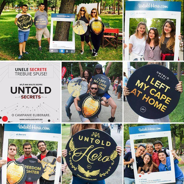 Untold Heroes & Secrets. Campaniile noastre de la festivalul Untold.
