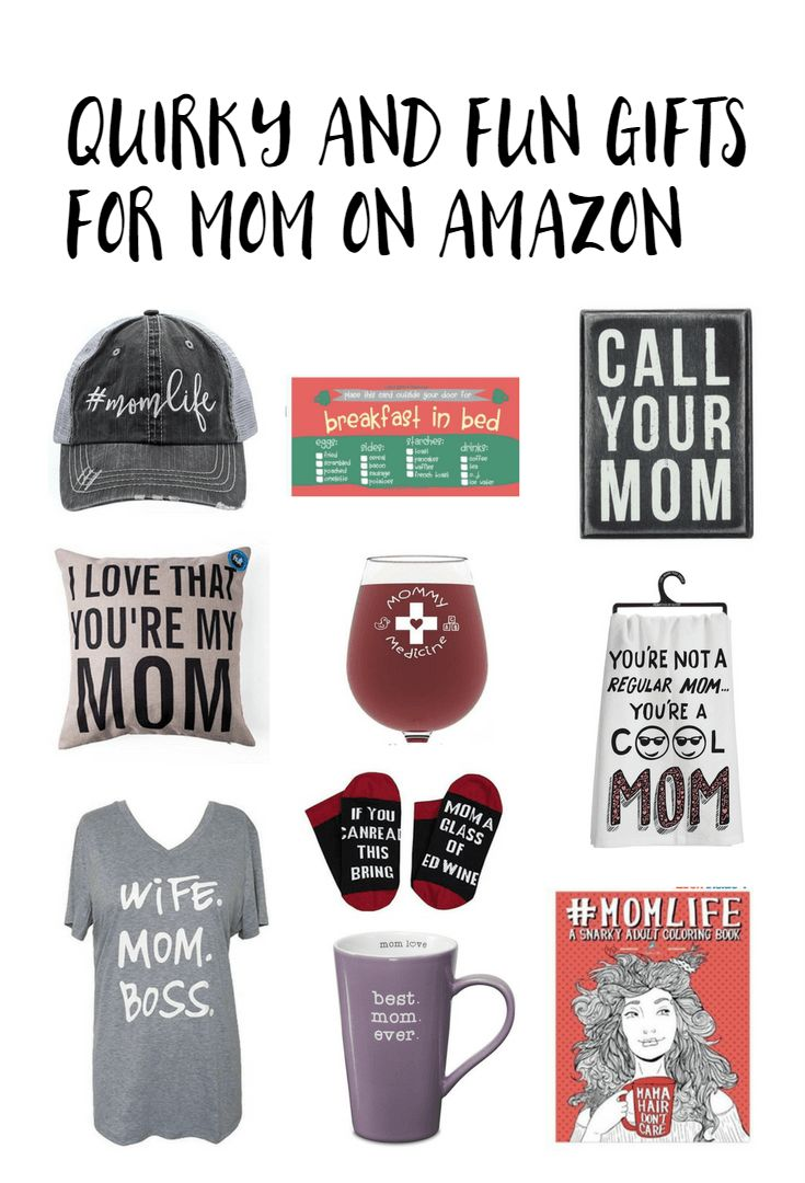 Quirky and fun gifts for mom on Amazon Gifts for mom