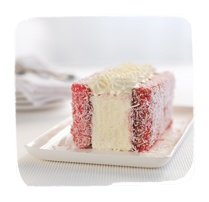 Tip Top ice cream and lamingtons!