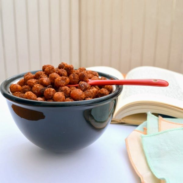 Happily Spiced: Crispy Spicy Chickpeas | Cuisine | Pinterest