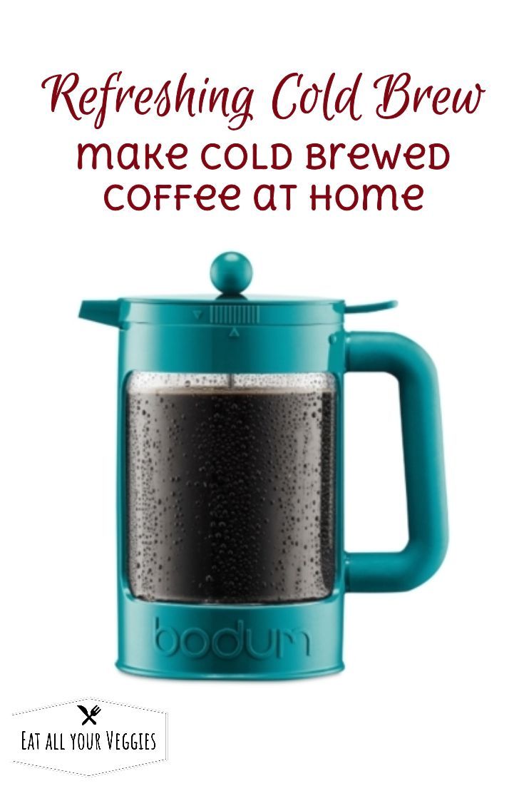 That first morning cup is always ready when you are with the Bean  cold-brew coffee maker from Bodum. Simply prepare the brewer the night  before and the coffee is ready 12 to 24 hours later.
