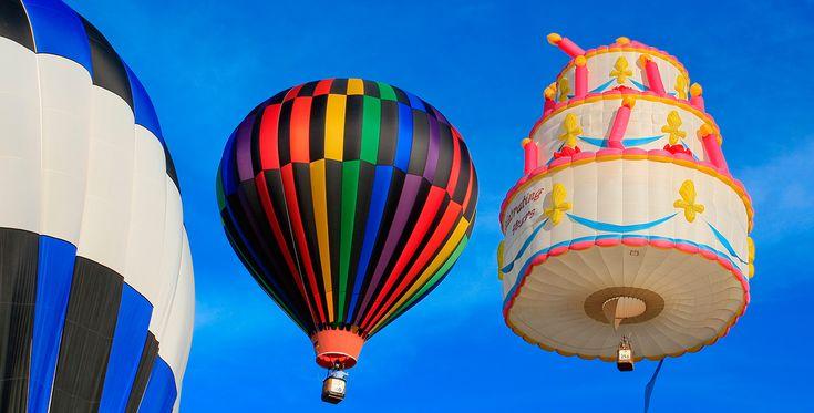Ballonfahren in Dormagen Raum Düsseldorf in NRW #Himmel #Ballonfahrt #Geschenk