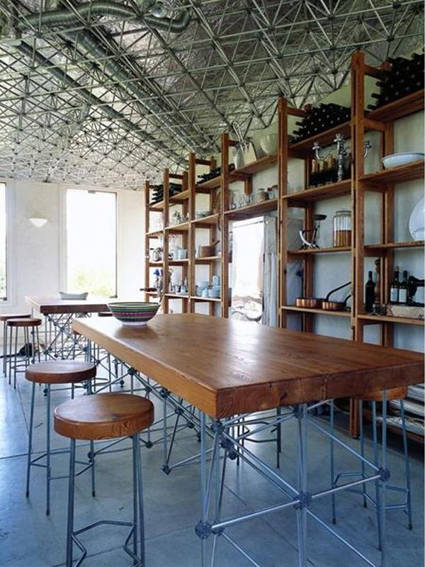 Industrial #kitchen Casa Molecule located in Argentina