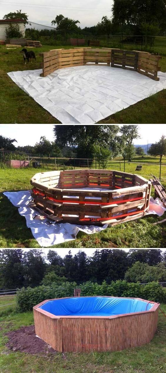 Diy how to pool*cheap