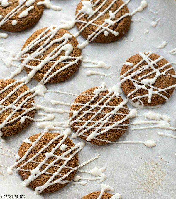 Iced Molasses Cookie Recipe