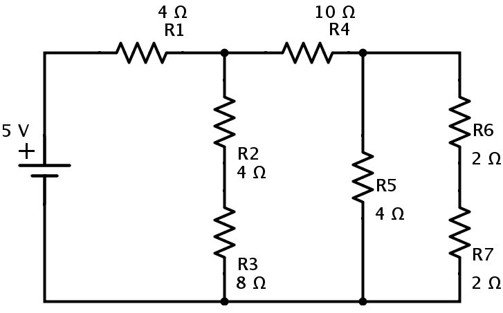Series Parallel Circuit Examples Resistors in series and