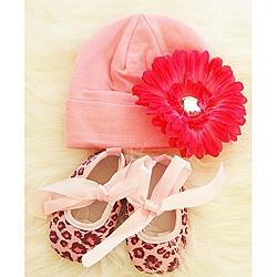 Pink Cheetah Print Baby Girl Gift Set .    See more animal print baby shower inspiration: http://www.squidoo.com/animal-print-baby-shower