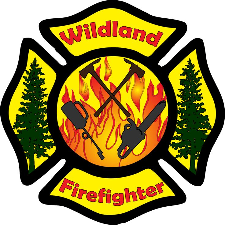 Wildland Firefighter Maltese Cross Decal
