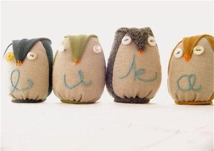 fall owl crafts: Owl Pillows, Owl Nurseries, Stuffed Owl, Owl Crafts Ideas, Fall Owl, Stuffed Toy, Baby, Owlcraft, Adorable Owl