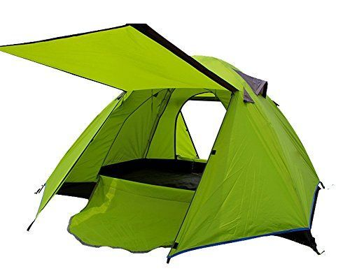 Introducing Generic Indoor Portable Family 2 Person Tent Green. Great Product and follow us to get more updates!
