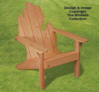 Adirondack Chair Plans Adirondack MICHIGAN Chair Plans