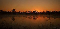 Южно-Африканская Республика, Делавэр, Африка, ландшафт, пейзаж, набросок