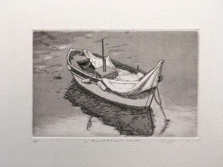Il Peschereccio Ligure: The Ligurian Fishing Boat #Realism