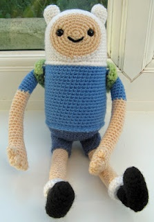 Crochet Finn from Adventure Time...by Angry Angel on Craftster...he's just perfectCrochet Projects, Crochet Dolls, Time Crafts, Adventure Time Bi, Animal Crochet, Crochet Amigurumi, Crochet Animals Birds, Crochet Pattern