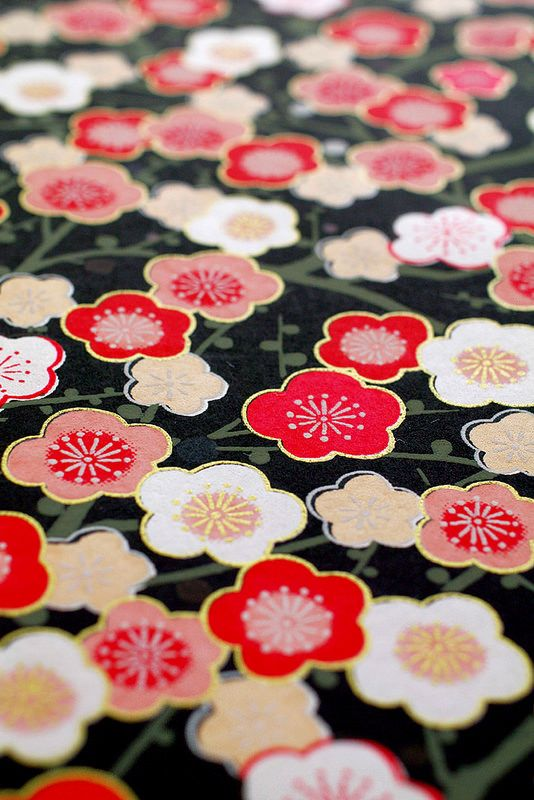 Japanese paper : Big size High quality Japanese paper washi Kyoto yuzen by karaku tokyo