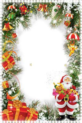 Imágenes navideñas y mas: Marcos para fotos Png sin fondo