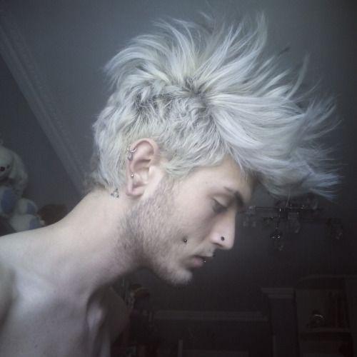 platinum hair men - Pesquisa Google