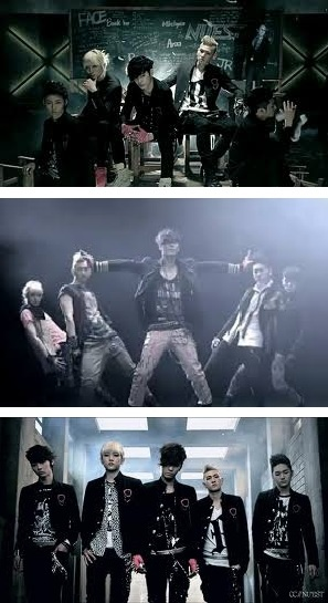 Nu'est Face this is my favorite song I love it so much and it's what got me into kpop!!