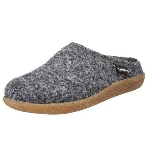 Giesswein Unisex Veitsch Lodge EU (US Men's 9 / Women's 11 M): Slip in fast  and easily and feel perfectly, that's what Giesswein slippers offer.