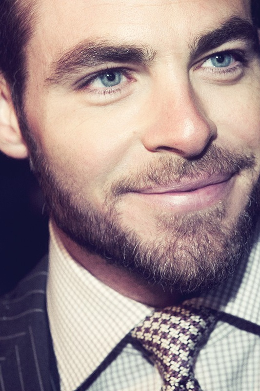 Chris Pine, just somebody soo handsome, can put the camera really close and still look AMAZING!! <3