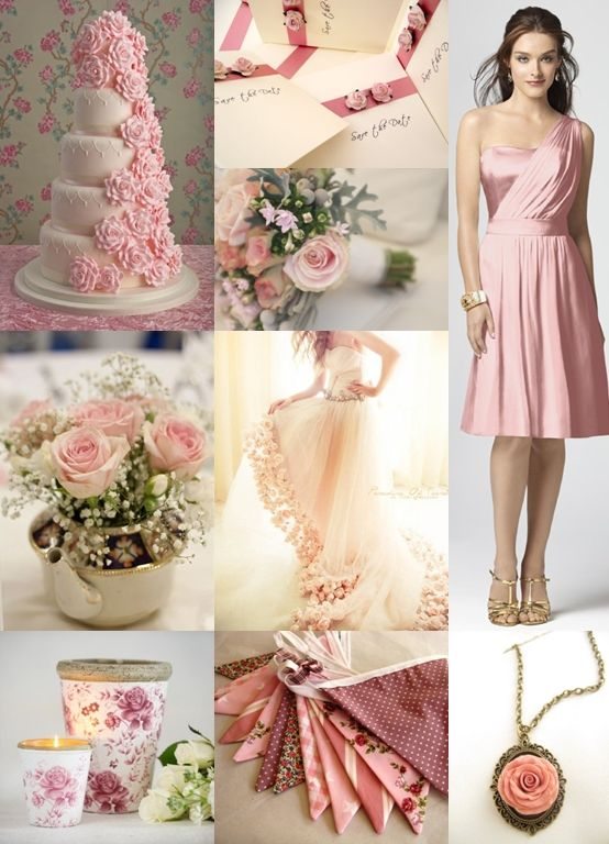 Pink Rose Wedding Theme - Moody Monday - The Wedding Community Blog