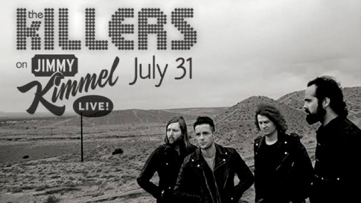 "The Killers to perform on ""Jimmy Kimmel Live!"" 