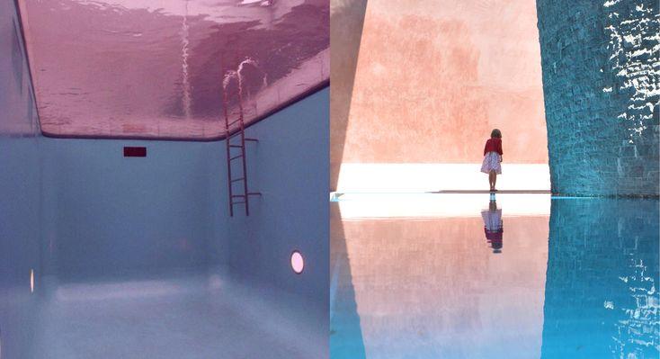 Leandro Erich et sa piscine « inversée »  // Skyspace installation by James Turrell National Gallery of Australia via Goodmoods