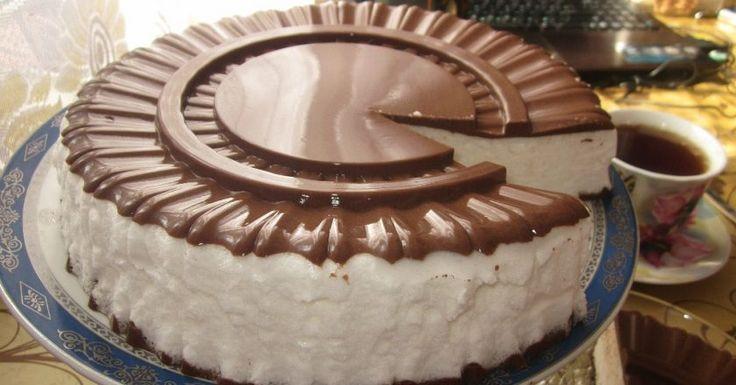 Torta vtáčie mlieko Торт «Птичье молоко»
