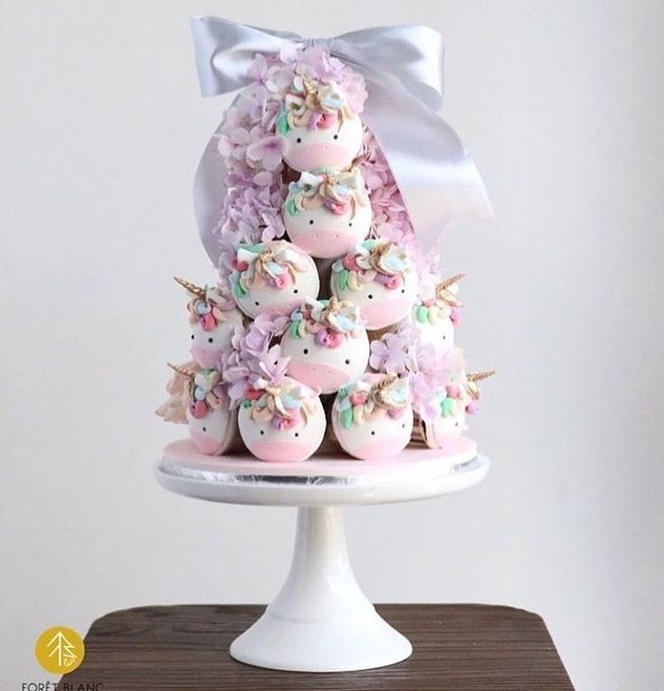 """10 Likes, 1 Comments - Louisa@littlebigcompany (@littlebigcompany) on Instagram: """"Sunday's  made better with a unicorn cupcake tower by @ladies_of_foret"""""""
