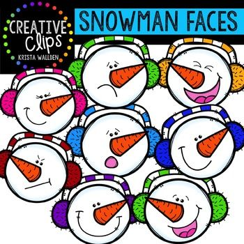 This 16-image set is full of snowman expressions! Included are 8 vibrant, colored images and 8 black and white versions.The images will have high resolution, so you can enlarge them and they will still be crisp. All images are in png formats so they can easily be layered in your projects and lesson materials.