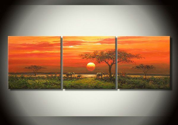A painting of Africa