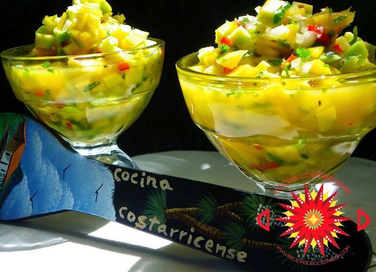 Cocina Costarricense: ceviche de mango