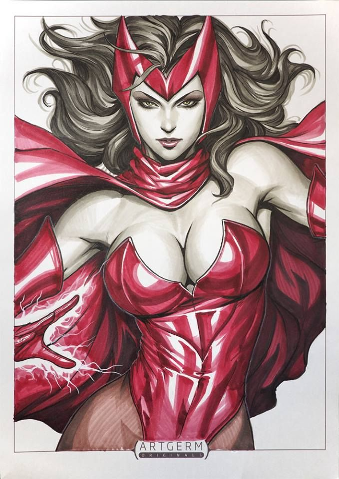 Scarlet Witch by Artgerm | Stanley Lau