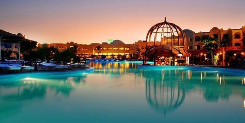 Swam here at Tia Heights in Makadi Bay, Egypt. Fantastic pool and sea.