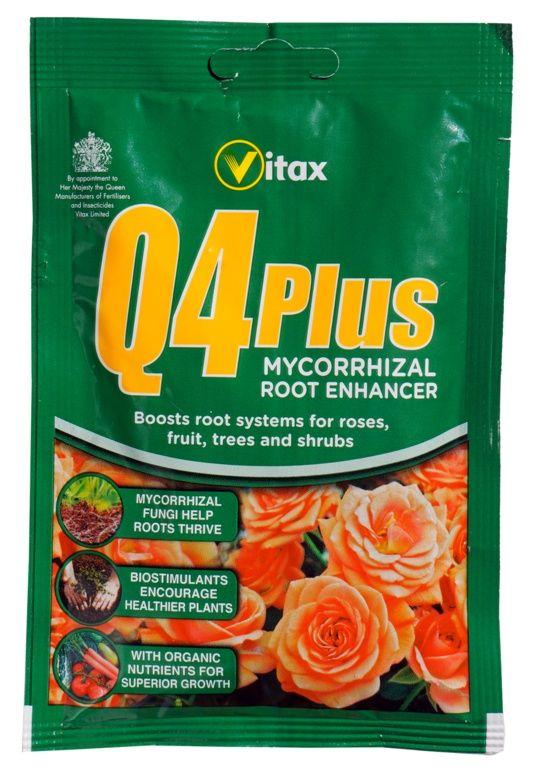 Vitax Q4 Plus Mycorrhizal Rootmore 60g sachet   Gardening