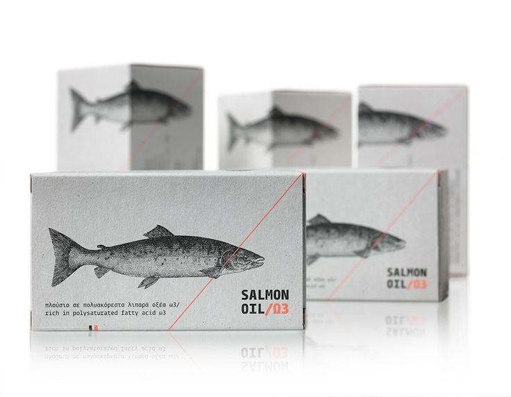 Salmon oil, Ω3 - mousegraphics.gr
