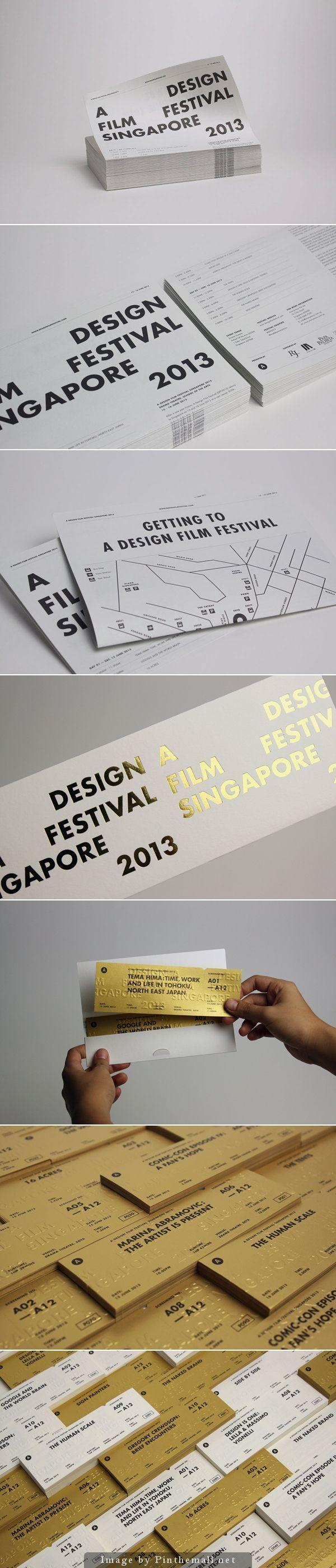 Design Film Festival Singaport | Graphics | Pinterest
