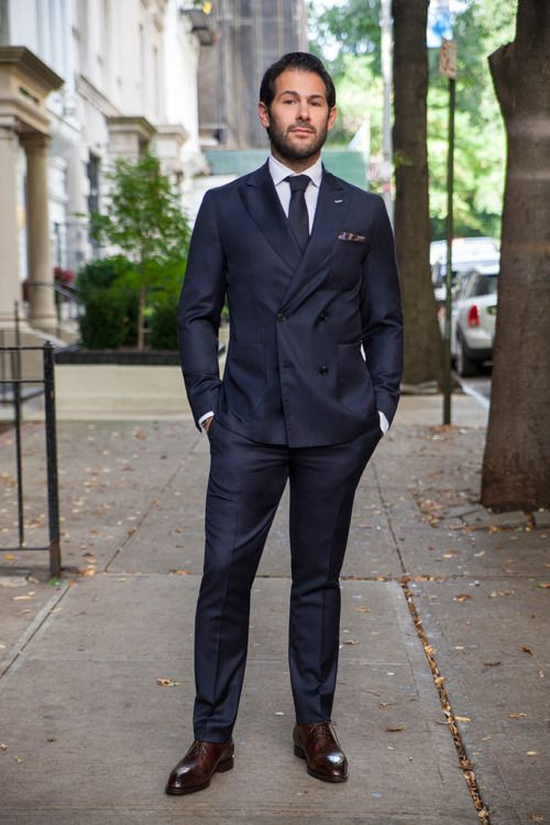 hodinkee:  suitsandthecityft:  Ben Leventhal. Co-founder of Eater.com, president of KitchenSurfing and on the board of directors of Hot Bread Kitchen. Ben is wearing a VK Nagrani double breasted suit, VK Nagrani Captains shirt, and Bontoni for VK Nagrani shoes. Photo by Sophie Elgort  Hey it's benleventhal !