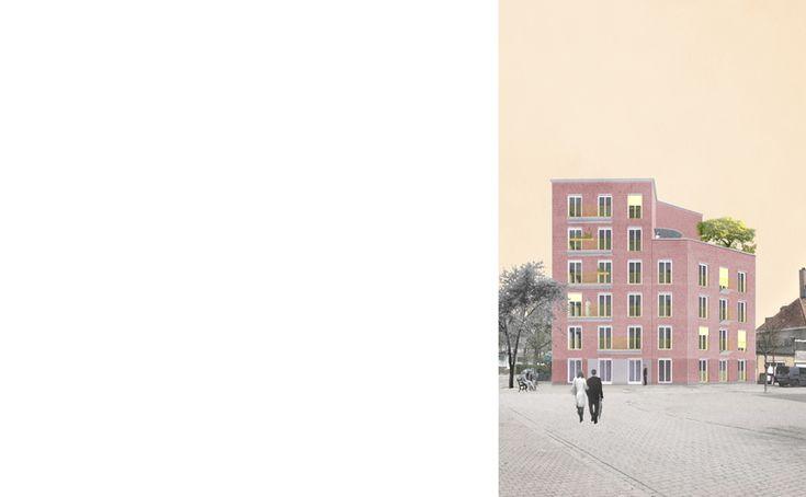 Sociale huisvesting 'De Bloemenwinkel' | Haerynck Vanmeirhaeghe architecten