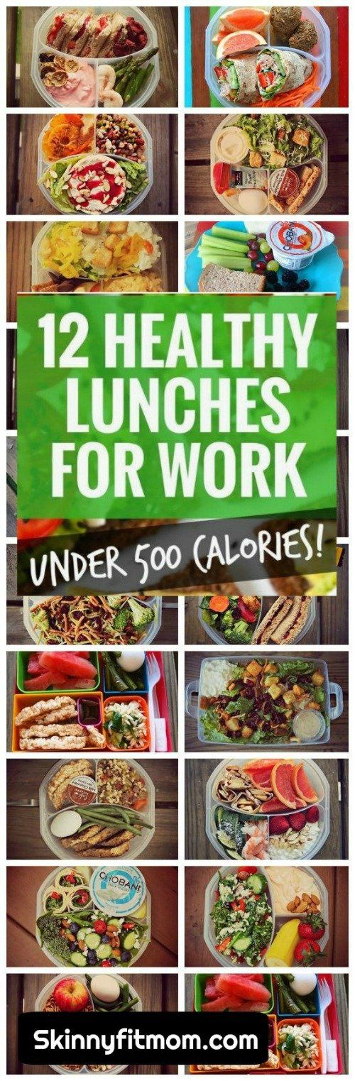 13 Healthy Lunches for Work Under 500 Calories | Healthy Recipes for Weight Loss | Quick and Easy Lunch Recipes |