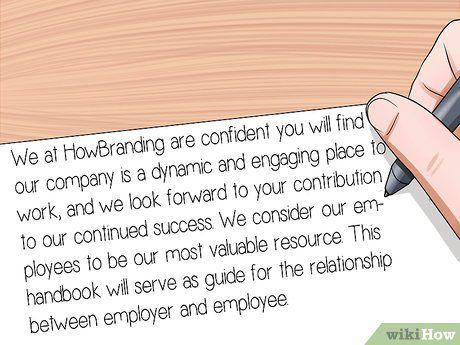Write an Employee Handbook Employee handbook