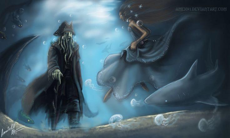 Davy Jones and Calypso