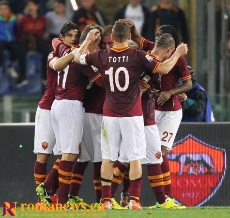 12 Aprile 2014 #RomaAtalanta | Settima vittoria consecutiva per la #ASRoma, che squadra!!!!