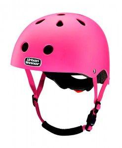 UrbanWinner-cykelhjelme-neon-pink