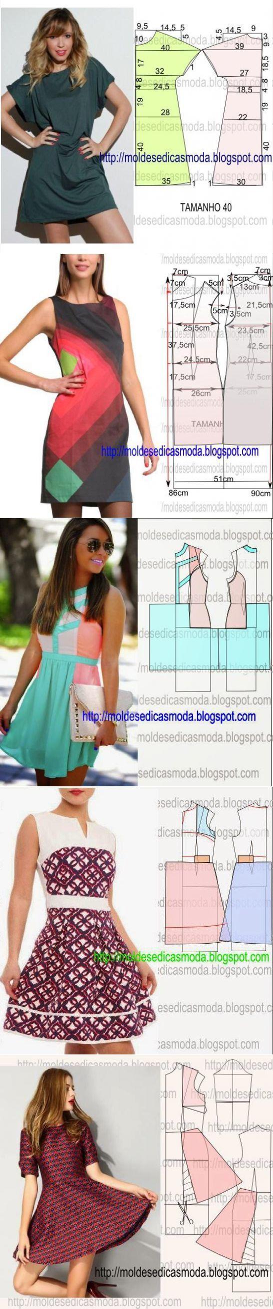 Платье+выкройка .(11 часть)